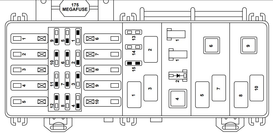 Diagrama De Fusibles Ford Explorer 1999 Opinautos