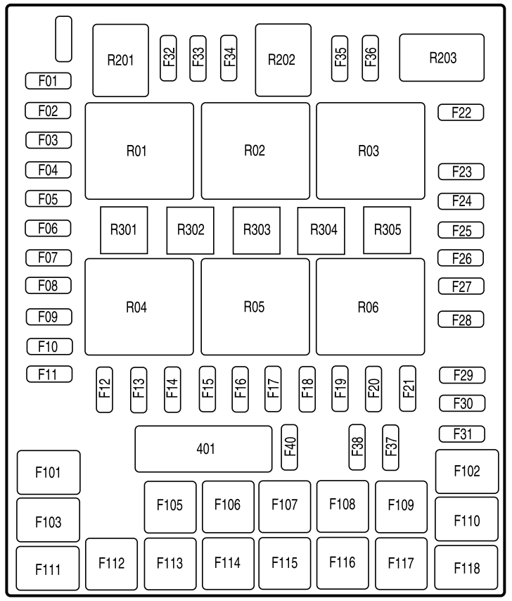 2008 ford f 150 fuse box diagram startmycar 2008 Pontiac Grand Prix Fuse Box Diagram