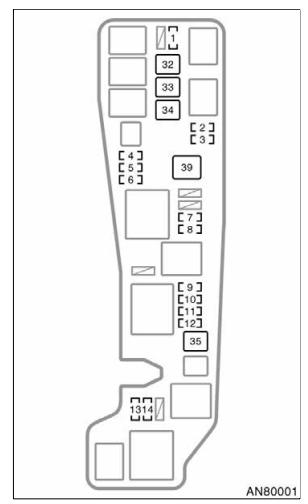 2004 toyota matrix fuse box diagram - startmycar  startmycar