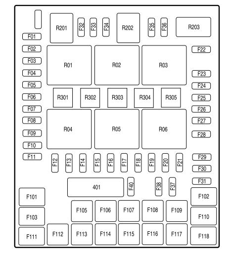 2008 ford f150 fuse box diagram